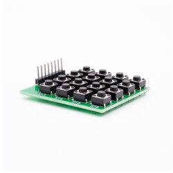 4 X de 16-zeer belangrijke Module MCU van het Toetsenbord van het Toetsenbord van Matrijs 4