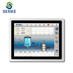 8/10/12/15 pouces tout en un panneau à écran tactile Kiosque industrielle PC avec support de Windows XP/7/10