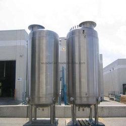 Tanque de armazenagem de Aço Inoxidável sanitárias para a indústria química
