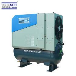 10HPねじ空気圧縮機(SCR 10PM2)回転式ねじ空気圧縮機の日本の技術SCR IP65永久マグネットモーター