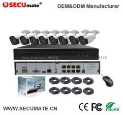 8CH 5MP сети IP-Smart сетевой видеорегистратор в комплекте установки