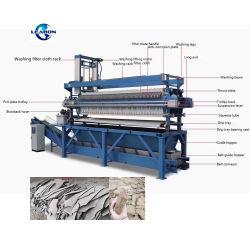 Food Grade filtre à membrane hydraulique automatique Appuyez sur Appuyez sur Filtre pour la vente de la machine