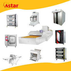 Astar Fabricación Horno Comercial máquina de Alimentos convección Industrial túnel Rotario Horneado Pan Cake Biscuit Pizza Horno