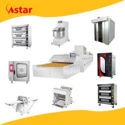 مخبز تجهيز تجاريّة آلة حمل حراريّ دوّارة نفق تحميص أفران لأنّ خبز