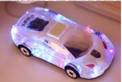 Светодиод Colorfule хороший звук автомобильную акустическую плеер для детей подарок USB автомобильный динамик с TF карты, FM-радио