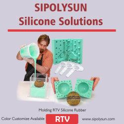 Caoutchouc de silicone RTV-2 pour le moulage de plâtre de silicone liquide en béton de résine
