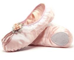 Elegante OEM de Dança China Balé Sapatas Plana Fashion senhoras de Balé sapatos de dança