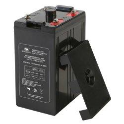 低い自己放電のAGMの電解物の技術2V VRLA SLA電池