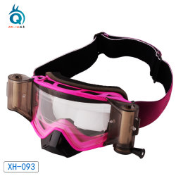 Anti niebla Roll off carreras de motos de motocross Mx gafas
