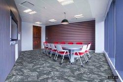 장식적인 마루 나일론 양탄자 도와 PVC 역행 돌 패턴 호화스러운 디자인 루프 더미