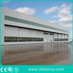Panel Sandwich acero automática corrediza puerta hangar de aviones para el aeropuerto