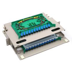 저렴한 가격 1.2mm 24 코어 ODF 파이버 패치 패널 6 포트