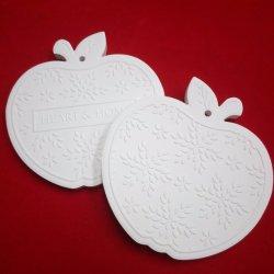 Logotipo personalizado de cerámica porosa la volatilización de perfumes Disc