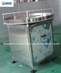 Gh-1000 SUS304 Alimentador de la botella de disco de acero inoxidable