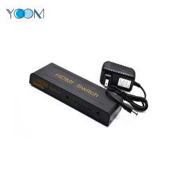 Ycom 5 port vidéo 1080P Commutateur HDMI Switcher pour HDTV