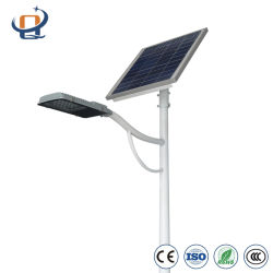 40 واط/50 واط/60 واط/80 واط/100 واط/120 واط IP65 All-in-One/مستشعر خارجي مدمج LED Solar Street Lamp Factory