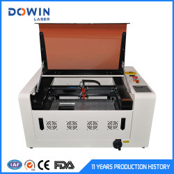 Mini fábrica de corte láser de CO2 Precio 3040 40W 50W 60W para el cuero de acrílico cristal de madera