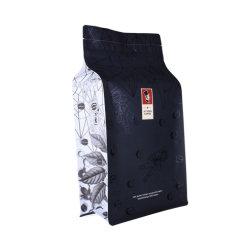 Matt-schwarzer kompostierbarer biodegradierbarer Plastikaluminiumfolie-Kaffee-verpackenbeutel mit Ventil