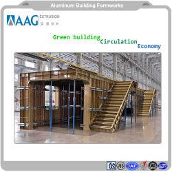 Los materiales industriales de aluminio de la construcción de muro cortina de aluminio Aluminio