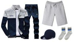 Polyester de gros Hommes Femmes vêtements de jogging de vêtements de mode d'usure uniforme de Vêtements Vêtement survêtement de sport