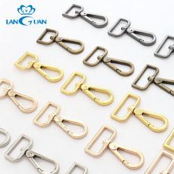 Металлические крепежные детали обшивки поворотный крюк для совмещения дамской сумочке