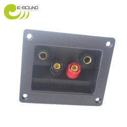 Caixa de terminais do alto-falante do conector do bloco de terminais do bloco de terminais de plástico