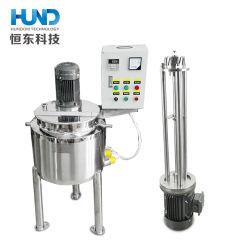 Chauffage électrique en acier inoxydable réservoir émulsifiant de mélange à crème cosmétique
