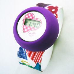 Мода подарок силиконовый цифровой бить часы на запястье для детей и детей (JY-PP003)