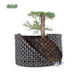 [ب] بلاستيكيّة جذر تحكّم هواء عمليّة تقليم مزارع إناء مع قاعدة وبرغي من 1 جالون إلى 400 جالون