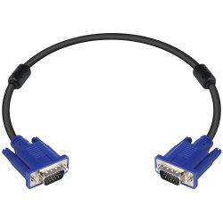Câble VGA pour moniteur VGA HD15 mâle à mâle pour TV ordinateur projecteur