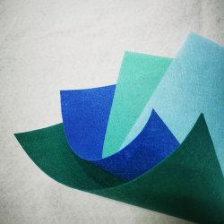 As Embarcações Wholesal Artesanato feltro macio coloridos não tecidos de malha de tecido de poliéster sentida de brinquedos de costura bricolage artesanato bordados