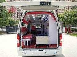 Het nieuwe Voertuig van de Ziekenwagen van de Noodsituatie van de Redding van de Eerste hulp van de Benzine