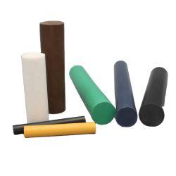 Varilla de PE, HDPE, Uhwmpe varilla varilla Varilla de plástico blanco, color negro.