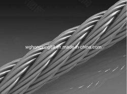 Collegare galvanizzato del filo del PC dell'acciaio inossidabile per il collegare concreto di spirale della corda d'acciaio