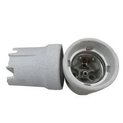 Keramischer Halter F519, der meiste populäre keramische Lampenhalter der Lampen-E27