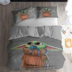 3D-печати детский йода одеялом крышку 3 кровати,