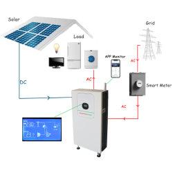 Allsparkpower hors réseau système d'énergie solaire 9.6Kwh Accueil Station d'alimentation solaire de la batterie