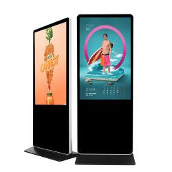 El soporte de suelo de 50 pulgadas Full HD 1080P Panel LED Monitor LCD de pantalla táctil de la Junta de pantalla de publicidad