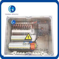 De plástico/metal PV Caixa de Junção do painel de combinação de caixa de ligação do Sistema Solar PV Caixa de matriz com porta transparente