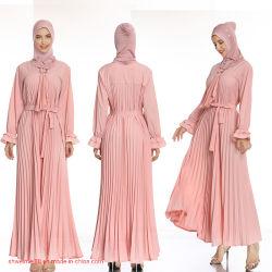 2020 جديدة تصميم بيع بالجملة [هيغقوليتي] نساء مسلم طويلة ثوب [كفتن] [أرب] [أبا] إسلاميّة [شفّون] فصل صيف شاطئ [كفتن] لباس صنع وفقا لطلب الزّبون خدمة لأنّ مظهر