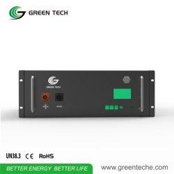 Zonnestelsel LiFePO4-tasje voor de Graphene-batterij 48V 2,5kwh Telecom basisstation