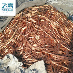 Fábrica de buena calidad de chatarra de alimentación de alambre de cobre el 99,95% de la chatarra de cobre el 99,95%