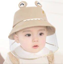 Children's Hat PAC amovible face Shield petit bébé Cap