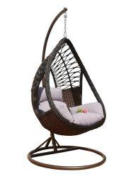 Nouveau arriver PE de mobilier en rotin avec coussins de fauteuil confortable
