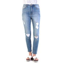 Мода дизайн высокого качества Curvy установите Super высокая женщина джинсы Джинсовые брюки Hez