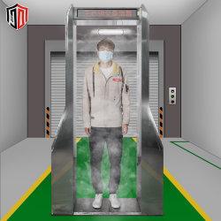 지하철 비접촉 인체 온도 자동 스캐너 소독 채널