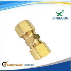 Китай сжатия на заводе металлы латунные пары трубы фитинг, Half-Union газ, адаптера для дожигания газа охватываемый патрубок