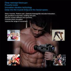 Masaje muscular Pistola eléctrica de alta frecuencia masajeador corporal claro del ácido láctico después del ejercicio de la bolsa de portátil