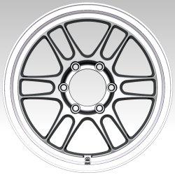 Cerchi in lega di alluminio da 15 17 pollici nuovo modello Roda De Liga De Aluminio Carro
