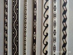 Modanatura di legno intagliato decorativo interno